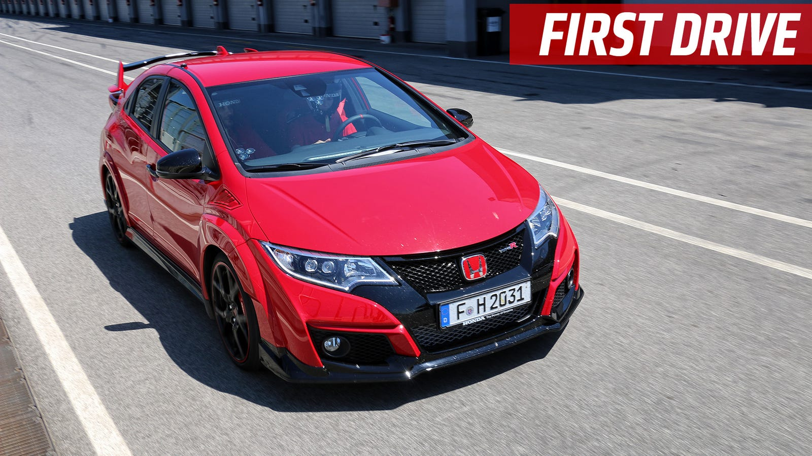 the 2015 honda civic type r is a loud joyride all day long. Black Bedroom Furniture Sets. Home Design Ideas