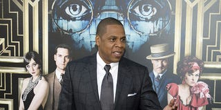 Jay-Z at The Great Gatsby premiere (Don Emmert/AFP/Getty Images)