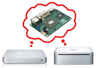 Illustration for article titled Apple To Use Nvidia's Atom-Powered Ion Platform For Something: Mac Mini or Apple TV?