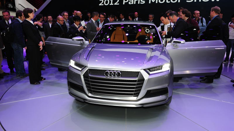 Illustration for article titled Audi Crosslane Coupe Concept: What Exactly Is This Thing?