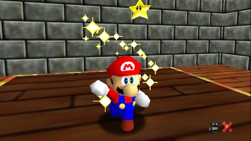 Playing Super Mario 64 Makes Your Brain Bigger