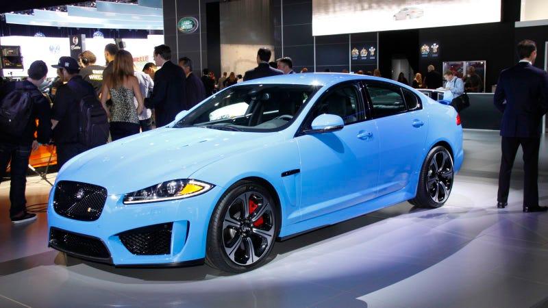 Illustration for article titled The Jaguar XFR-S Is The Fastest Jaaaaaaaag Sedan Ever