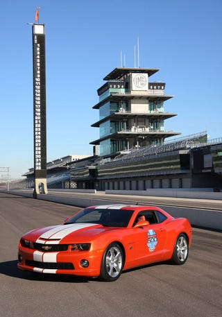 Illustration for article titled Official 2010 Indy 500 Pace Car Is Yet Again A Camaro SS