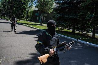 Illustration for article titled Gondok lehetnek a holnapi választással Kelet-Ukrajnában