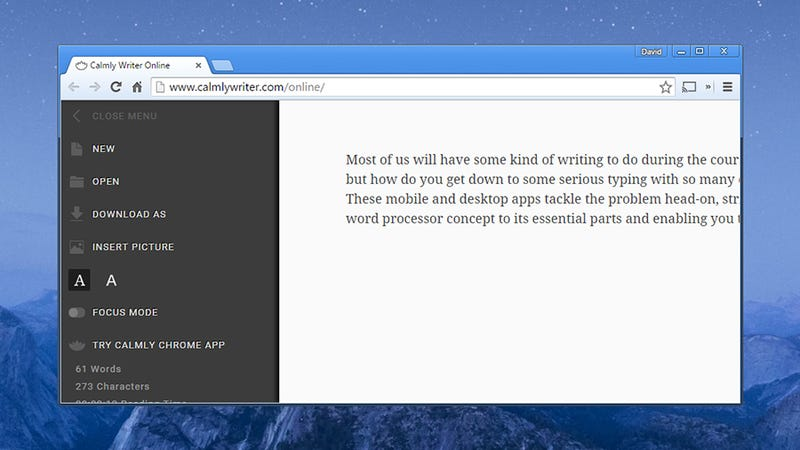 Nine Minimal Word Processor Apps for Distraction-Free
