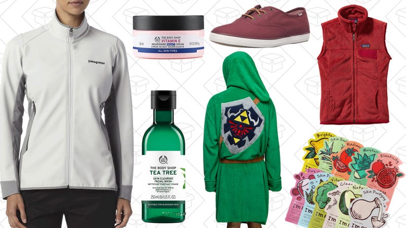 Illustration for article titled Today's Best Lifestyle Deals: Keds, The Body Shop, Patagonia, TONY MOLY, ThinkGeek, and More