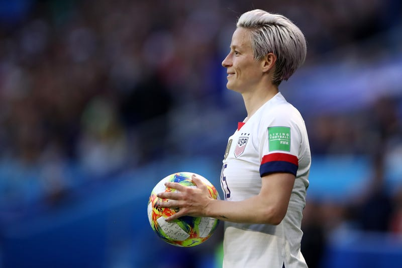 Illustration for article titled Megan Rapinoe Has Been Clear Before About Not Wanting To Step Foot In The White House