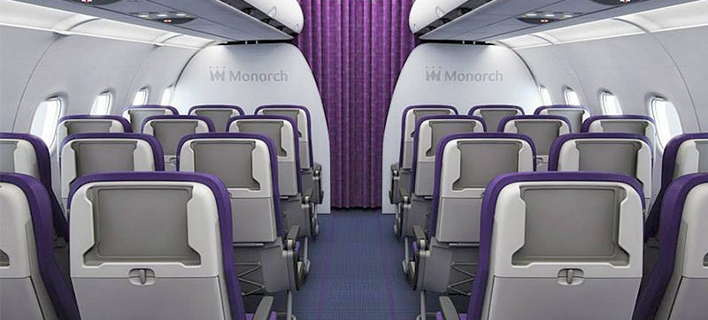 Illustration for article titled New Budget Airline Seats Swap Screens For Built-in Tablet Holders