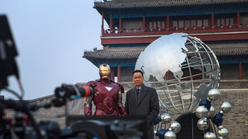 Illustration for article titled China disappointed to learn that Iron Man 3's Chinese-only scenes are pandering and superfluous