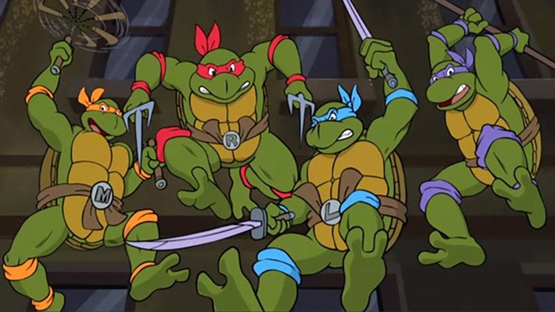 Illustration for article titled How Many Of These 'Ninja Turtles' Episodes Did You Watch As A Kid?
