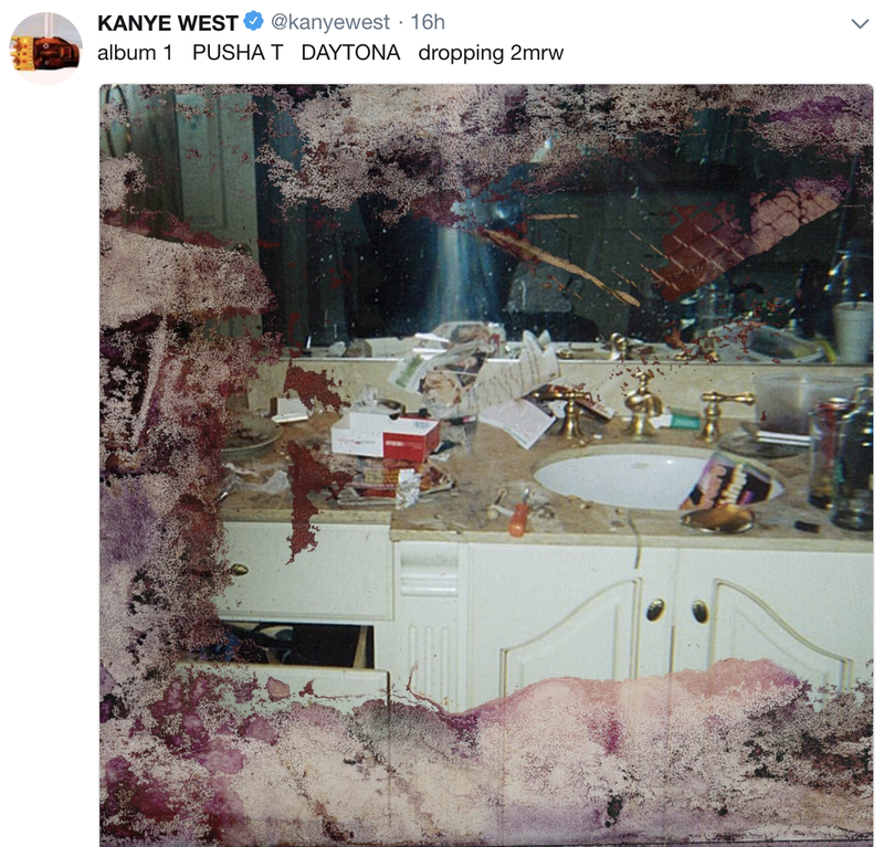 Illustration for article titled Kanye West Paid $85,000 to Use Photo of Whitney Houston's Drug-Covered Bathroom on Pusha T Album: Report
