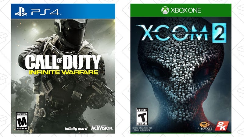Call of Duty: Infinite Warfare, $40   XCOM 2, $30