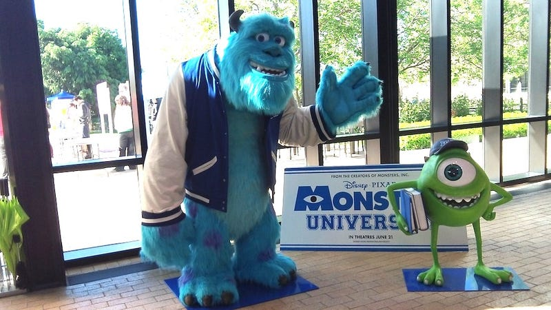 Illustration for article titled How Pixar transformed its studio into the Monsters University campus