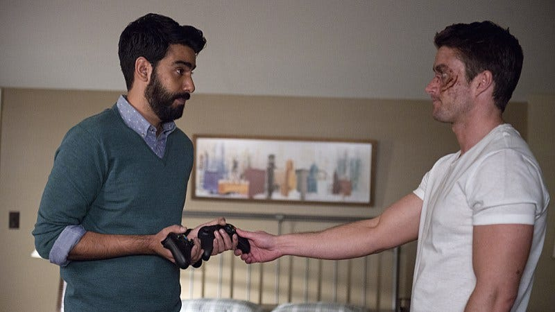 Rahul Kohli (left), Robert Buckley/The CW