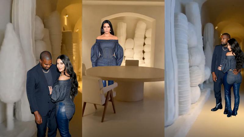 Illustration for article titled Kim Kardashian Decorates Home With Large, White Christmas Dildos