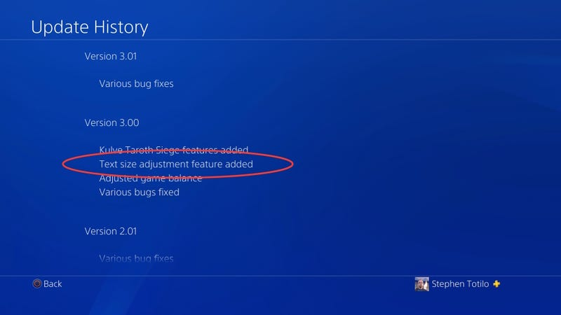 The most important patch note