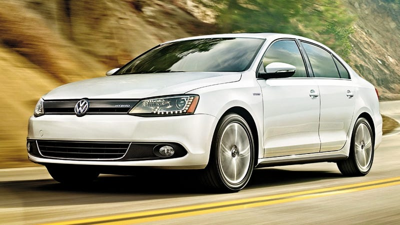 Illustration for article titled 2013 Volkswagen Jetta Hybrid: A Greener Shade Of Beige