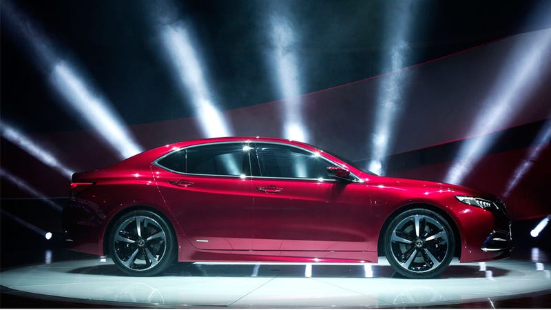 Illustration for article titled Acura Wants The New TLX To Be Like An Athlete And A Vault Or Some Shit