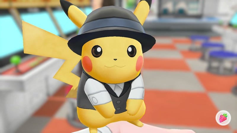 Ladies and gentlemen, introducing Pikachu Stump, lead singer of Fall Out Boy.