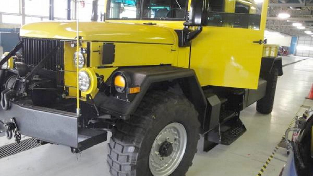 For $125,000, This Custom 1978 Jeep M35 Is A Monster