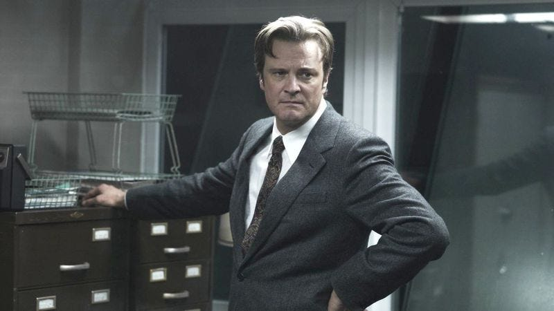 Illustration for article titled Colin Firth starring in movie about drones