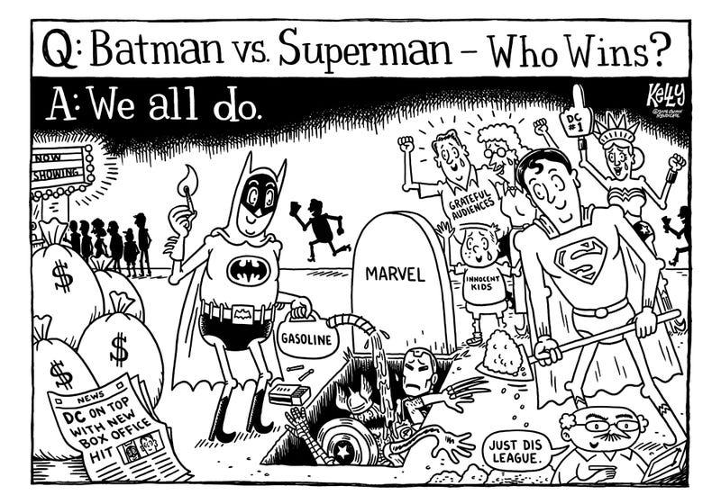 Illustration for article titled Editorial Cartoon: 'Special Afflecks'