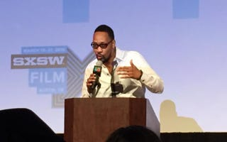 RZA delivers a keynote at South by Southwest on Monday in Austin, Texas.Genetta M. Adams/The Root