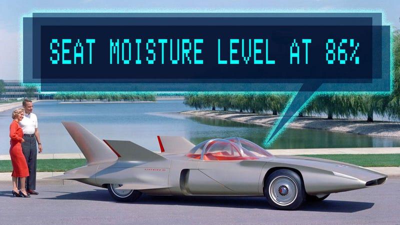 Graphic by Jason Torchinsky, 1958 Firebird III by General Motors