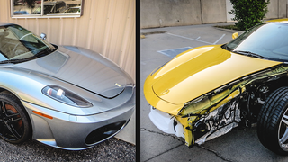 Here's How You Can Combine Two Broken F430s Into One Amazing Ferrari