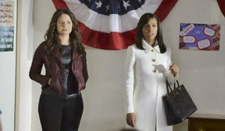 Quinn and Olivia are on a mission.Eric McCandless/ABC