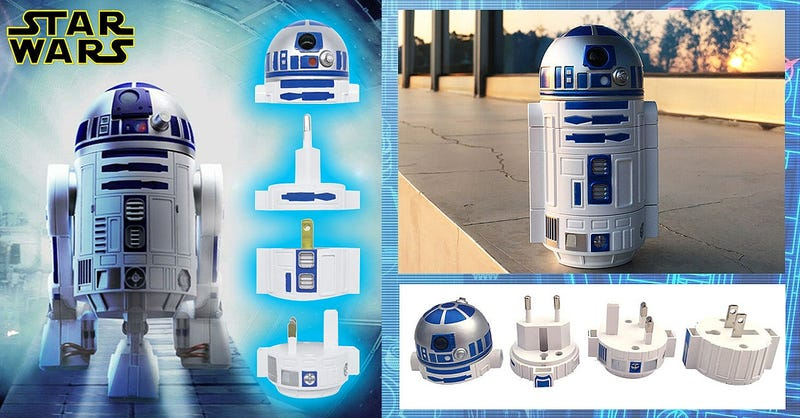 Illustration for article titled With This R2-D2, You Won't Have to Go to Toshi Station to Pick Up Some Power Converters