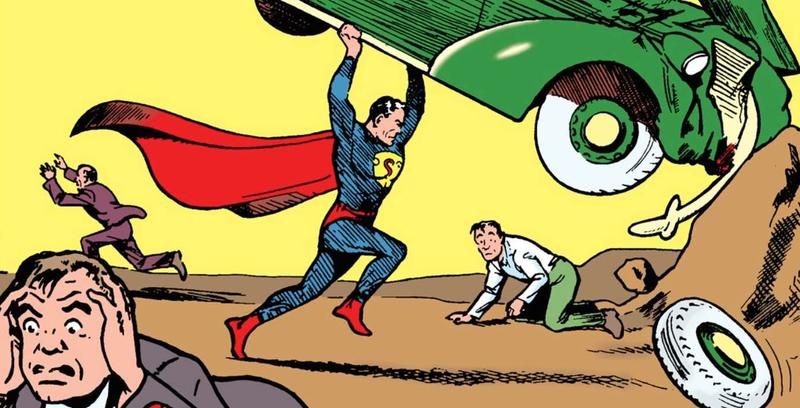 Illustration for article titled El primer cómic de superhéroes de la historia vale casi $2 millones