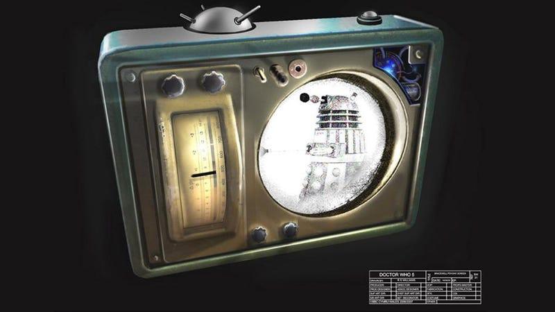 Illustration for article titled Dalek Concept Art!