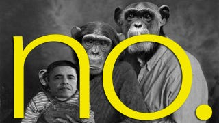 Illustration for article titled Tea Partier Sends Obama Chimp Email, Swears She's Not A Racist