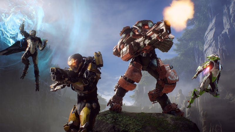 Illustration for article titled EA Announces New Revenue Model Just Deleting Everyone's 'Anthem' Characters Unless They Send Company $300 In Next Hour