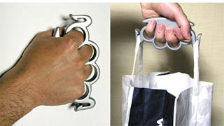 Illustration for article titled Brass Knuckles For The Manly Wal-Mart Shopper