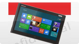 Illustration for article titled Leaked Lenovo Windows 8 Tablet Could Also Hint at What's Inside Surface