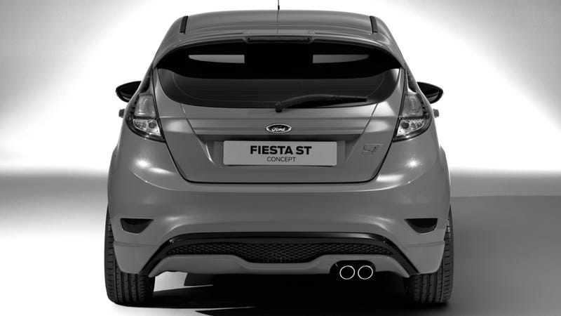 Illustration for article titled Ford Fiesta ST Five-Door Concept wants you inside it