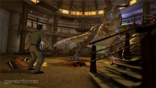 Illustration for article titled First Look At A Jurassic Park Game That Looks Pretty Good