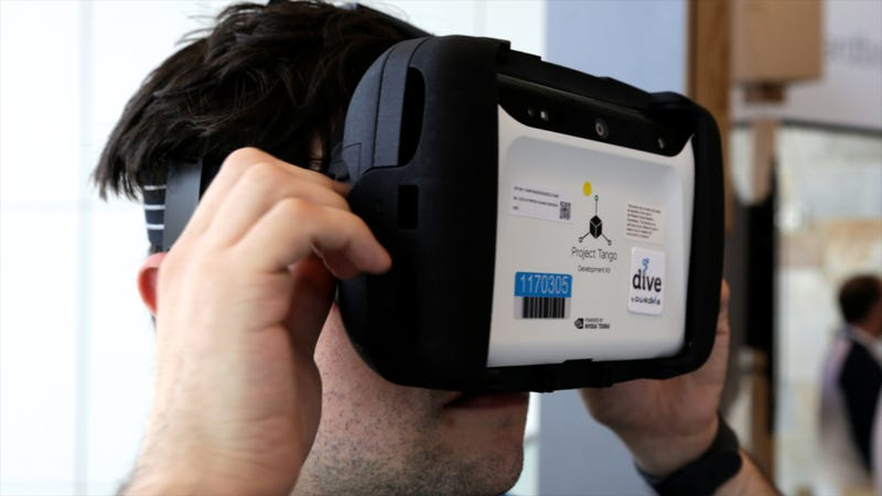 Illustration for article titled Project Tango Hands-On: Computer Vision Is So Much Cooler Than You Think