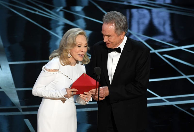 At the end of the gauntlet, you need to escape Faye Dunaway and Warren Beatty