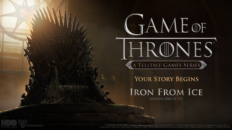 Illustration for article titled Telltale shares first details of its Game Of Thrones video game