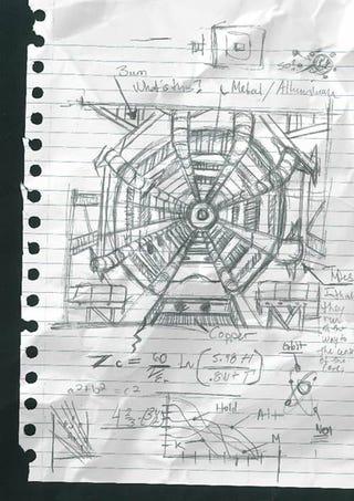 Illustration for article titled Men in Black III Viral Hadron Collider Sketch