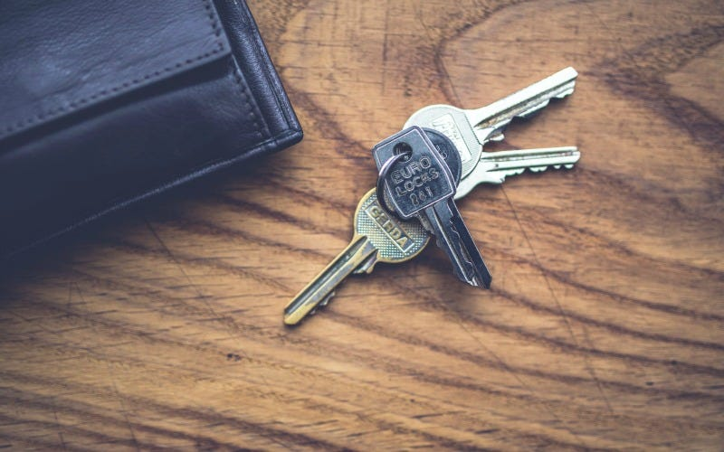 Illustration for article titled Stash Your Keys Under Important Items So You Don't Leave Them Behind