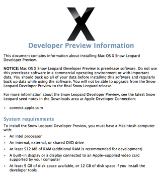 Illustration for article titled Snow Leopard Will Not Support PowerPCs After All