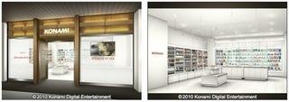 Illustration for article titled Konami Launching Retail Shop