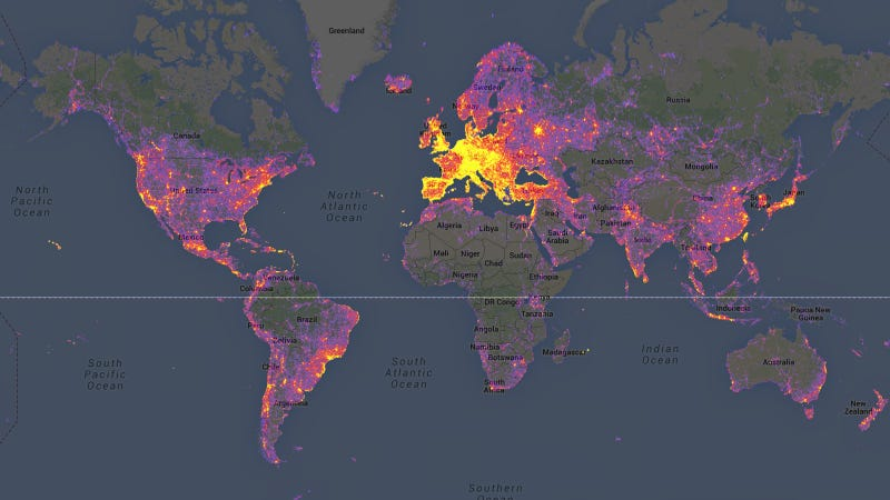 The most photographed places in the world