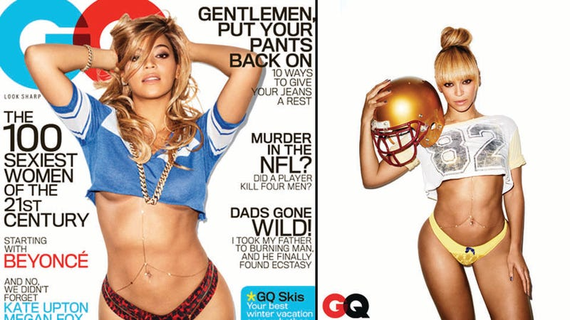 Illustration for article titled Insane GQ Article Makes It Overwhelmingly Clear That Beyoncé Is a Robot