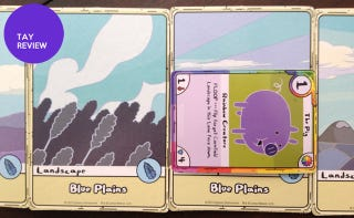 Illustration for article titled Adventure Time: Card Wars (TCG): The TAY Review