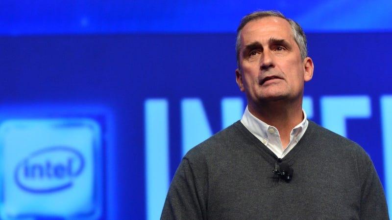 Brian Krzanich, CEO de Intel desde 2013. Imagen: Intel